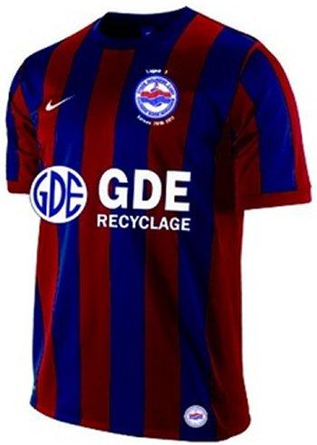 Maillot Caen Domicile Saison 2010-2011