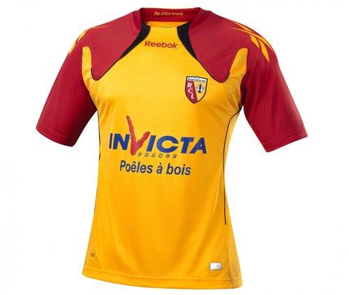 Maillot Lens Domicile Saison 2010-2011