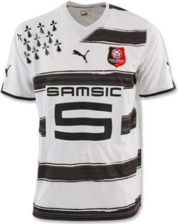 Maillot Rennes Extérieur Saison 2010-2011