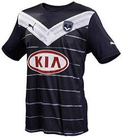 Maillot Bordeaux Domicile Saison 2011-2012