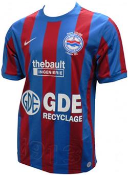 Maillot Caen Domicile Saison 2011-2012