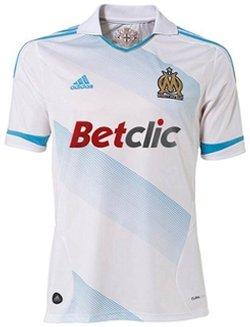 Maillot Marseille Domicile Saison 2011-2012