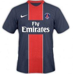 Maillot Paris Saint-Germain Domicile Saison 2011-2012