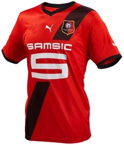 Maillot Rennes Domicile Saison 2011-2012