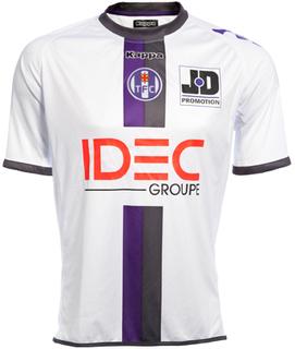 Maillot Toulouse Extérieur Saison 2011-2012