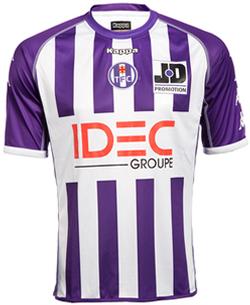 Maillot Toulouse Domicile Saison 2011-2012