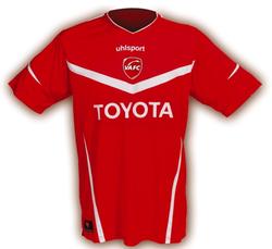 Maillot Valenciennes Domicile Saison 2011-2012