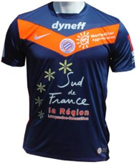 Maillot Montpellier Domicile Saison 2011-2012