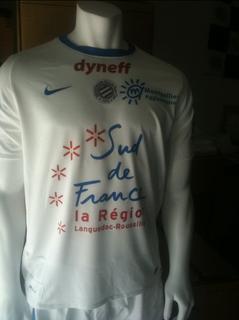 Maillot Montpellier Extérieur Saison 2011-2012