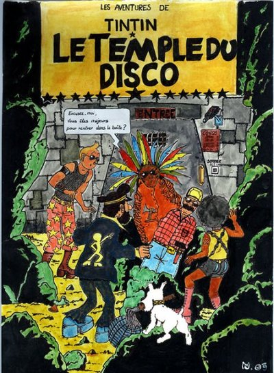 Top 18 Des D 233 Tournements De Couvertures D Albums De Tintin