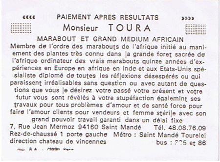 Top 10 Des Meilleures Cartes De Visite Marabout