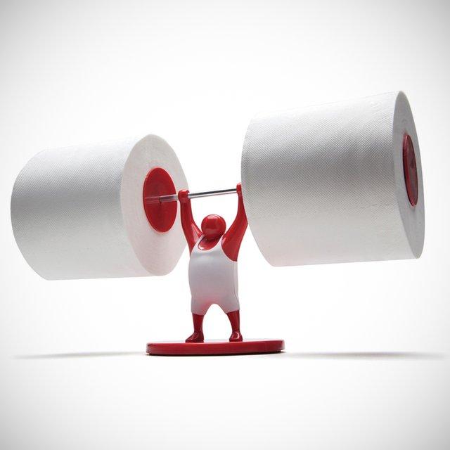 Un porte papier toilette halt rophilie topito - Porte papier toilette design ...