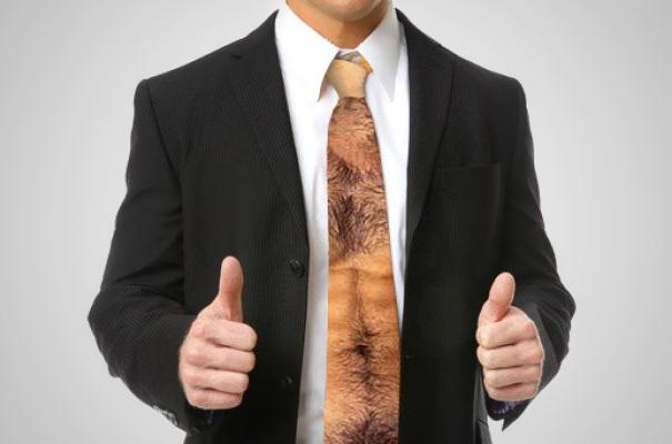 Bons prix magasins d'usine Acheter Authentic Une cravate pour enfin avoir le torse poilu