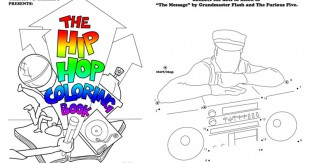 James Shields Hip hop coloring book IIHIH
