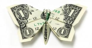 origami billetes
