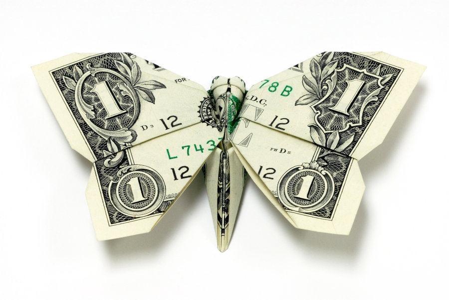 Бабочка на рубашку для подарка