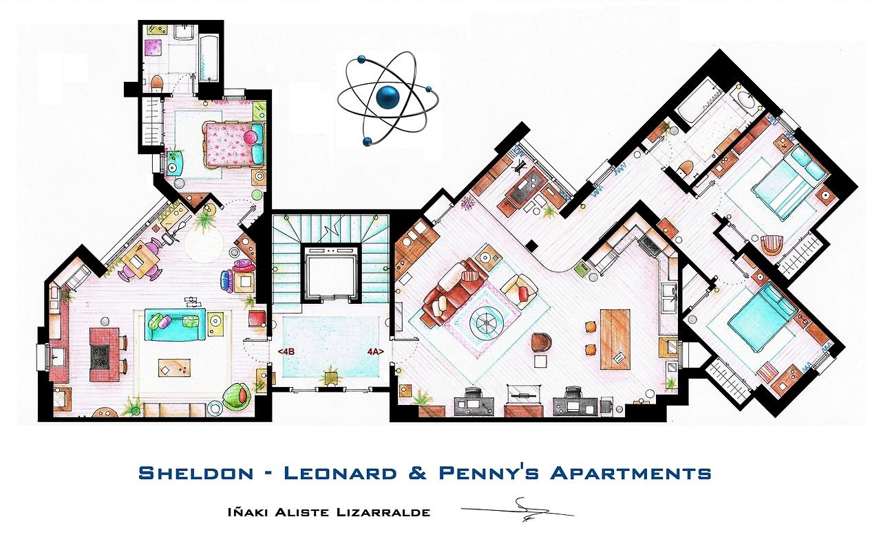 top 7 des plans d 39 appartement de s ries l 39 immobilier. Black Bedroom Furniture Sets. Home Design Ideas