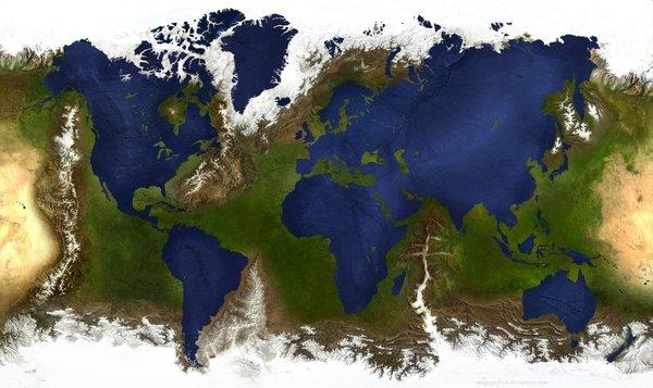 Top 27 des cartes pour voir le monde autrement | Topito