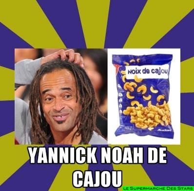 yannick noah de cajou