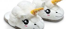 Des chaussons licornes - Topito