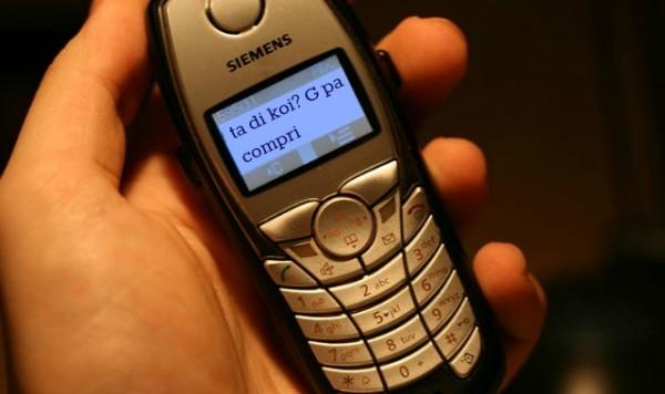 Top 10 des raisons d'arrêter définitivement le langage SMS, c'est bon, c'est terminé