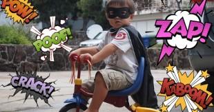 fils-super-héros