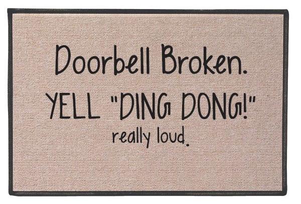 Ding-Dong-Doormat