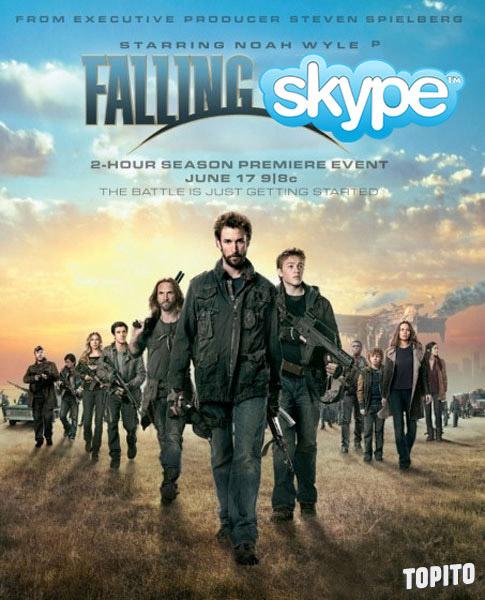 falling-skype