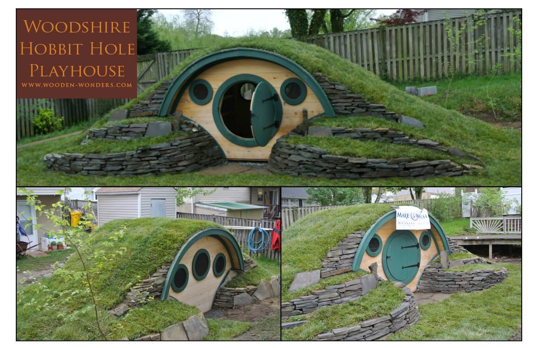 une maison de hobbit une vraie topito. Black Bedroom Furniture Sets. Home Design Ideas