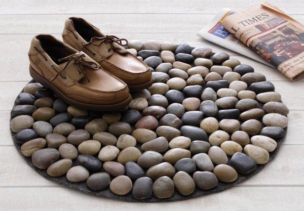 paillasson pierres