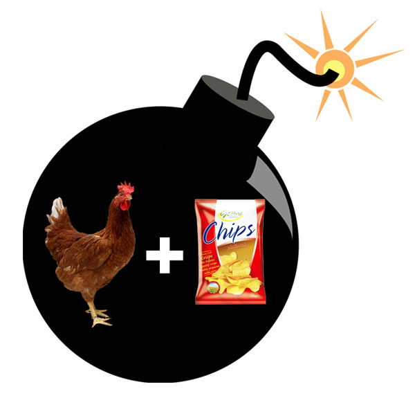 poulet-bombe
