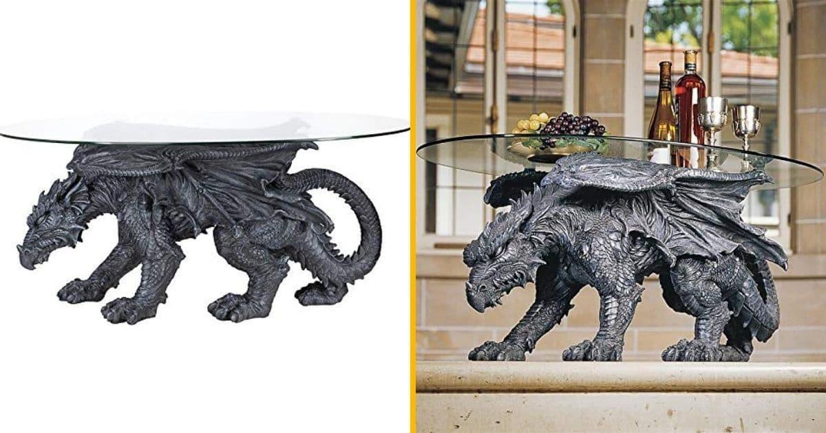 Une Table Basse De Salon Dragon