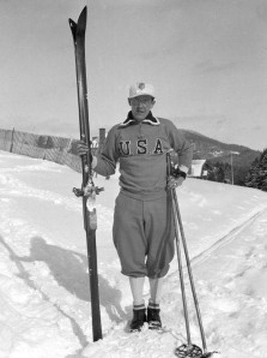Edward Blood, membre de l'équipe olympique américaine à Lake Placid (1932)_resultat