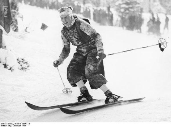 Olympische Winterspiele, Abfahrtslauf Damen