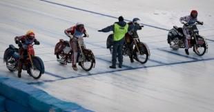 moto sur glace