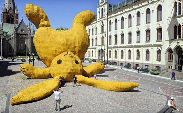 Souvent Top 10 des plus grosses peluches du monde, la douceur XXL | Topito NN19