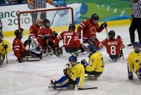 ParalympicsCanadaVsSwedenIceSledgeHockey