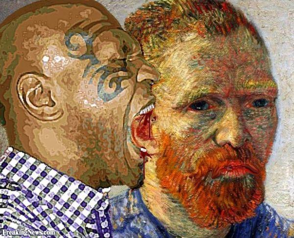Top 25 des meilleurs d tournements des tableaux de van - Vincent van gogh autoportrait a l oreille coupee ...