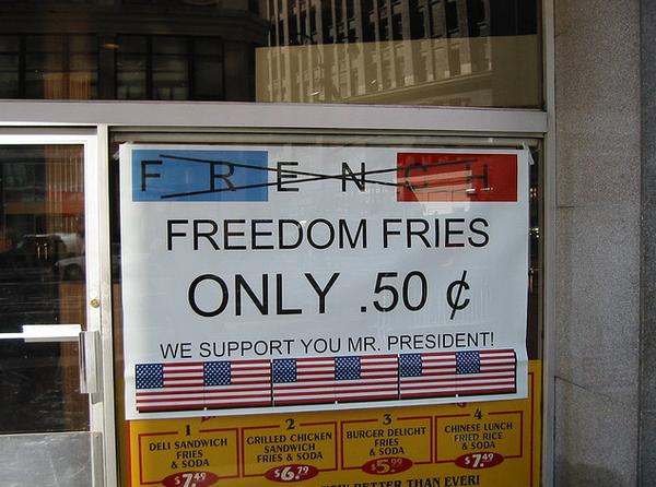 freedom fries_resultat