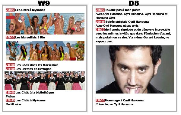 Programme TV-09