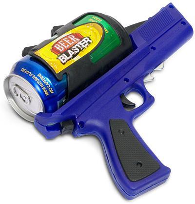 beer blaster gun