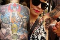 une pires tatouages star wars