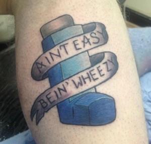 ventoline tatouage