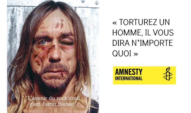 top 3 des affiches d 39 amnesty international contre la torture topito. Black Bedroom Furniture Sets. Home Design Ideas