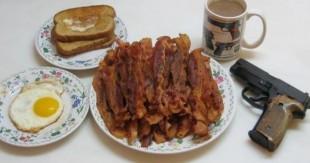 une trucs interdit petit dejeuner