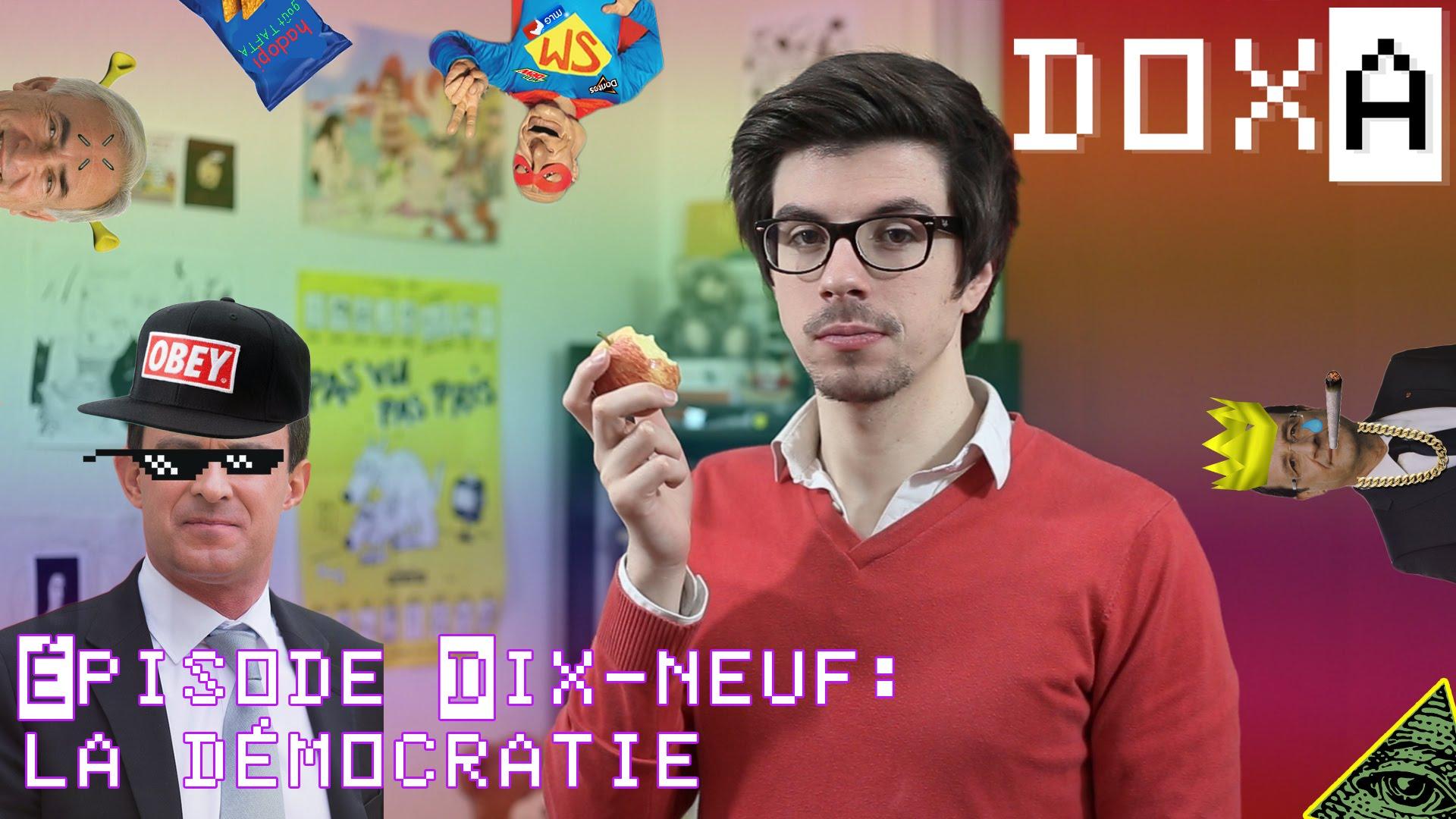 La d mocratie expliqu e par le youtubeur philosophe doxa for Bureau youtubeur