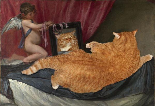 Velazquez_Venus_cat_w_resultat