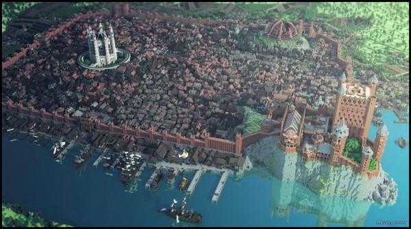 Westeros sur Minecraft