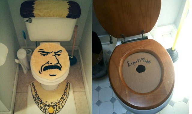 Top 25 des expressions plus originales pour d signer les toilettes topito - Lunette de toilette originale ...