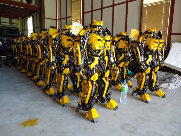bumblebee army
